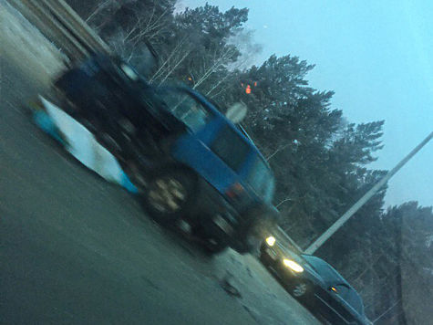 Шофёр иномарки умер после столкновения сбольшегрузом вИркутском районе