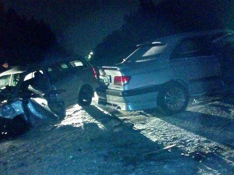 4 человека пострадали при столкновении 2-х авто вАнгарске