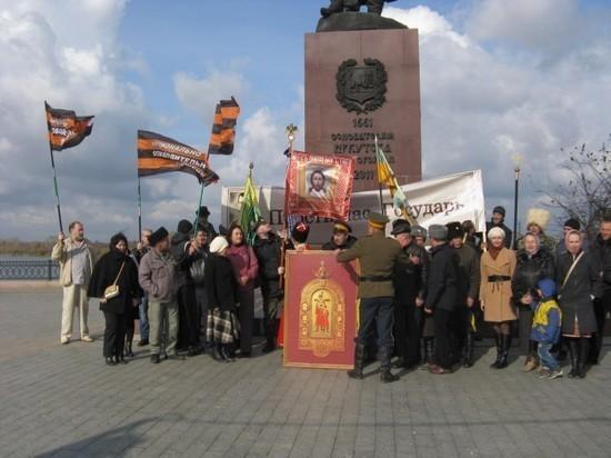 Иркутские казаки пошли атакой на «Матильду»