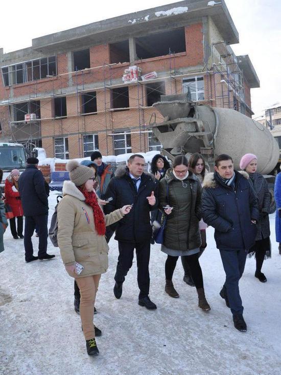 Мэр Иркутска проверил город