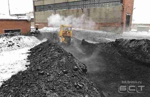 Мерзлый уголь стал предпосылкой холода вдетских заведения Братска